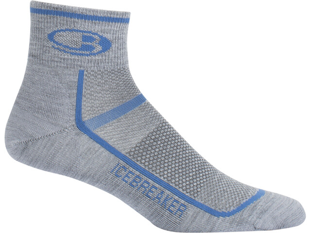 Icebreaker Multisport Ultra Light Mini Socks Men twister hthr/sea blue